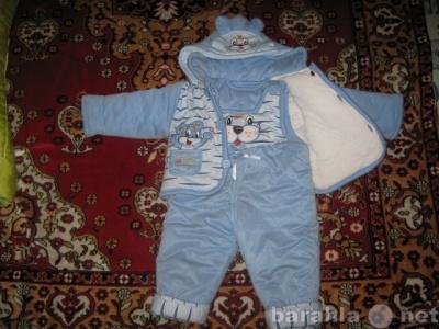 Продам детский демисезонный комбинезон и куртка в Канске.